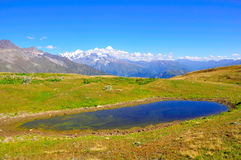 Koruldi Lakes, Svaneti Georgia Royalty Free Stock Image