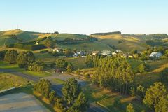 Korumburra township in South Gippsland Stock Photography