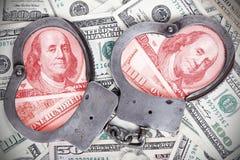 Korupcja w rzędzie Zdjęcia Royalty Free