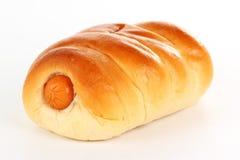 Korv i bröd Royaltyfria Bilder