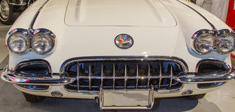 1959 Korvet Front End Royalty-vrije Stock Foto