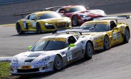 Korvet Z06.R GT3 (de Meesters van ADAC GT) Stock Foto's
