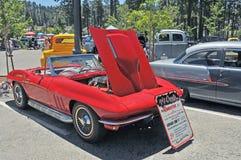 1965 Korvetopen tweepersoonsauto Stock Afbeeldingen