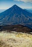 Koryak Vulkan Stockfotos