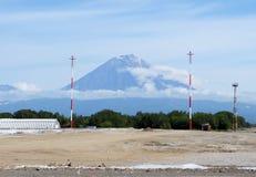 Koryak vulkan. Kamchatka Royaltyfria Foton