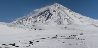 Koryakskii volcano. Kamchatka Royalty Free Stock Photos