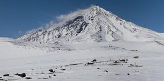 Koryakskii vulkan. Kamchatka Royaltyfria Foton