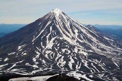 koryakskiy vulcan Zdjęcie Royalty Free