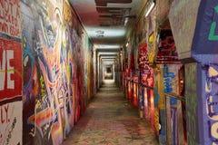 Korytarz, chodniczek Krog Uliczny tunel Atlanta dziąsła zdjęcia royalty free