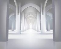 korytarz długo również zwrócić corel ilustracji wektora ilustracja wektor