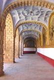 korytarz do kościoła Zdjęcia Stock