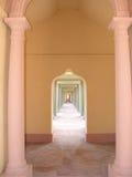 korytarz do meczetu Zdjęcia Royalty Free