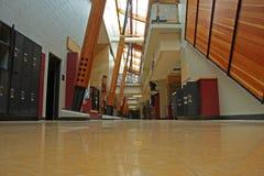 korytarz do szkoły Zdjęcia Stock