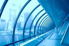 korytarz futurystyczny Zdjęcie Stock