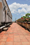 Korytarz Khao Pałac Królewski Wang fotografia royalty free