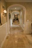 korytarz luksusu w domu Obraz Royalty Free