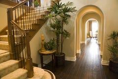 korytarz luksusu w domu Obrazy Stock