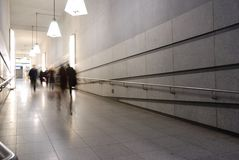 Korytarz metro obraz royalty free