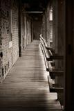 korytarz nawiedzający Zdjęcie Royalty Free