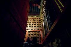 korytarz pałacu Zdjęcia Royalty Free