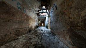 korytarz rujnujący Fotografia Royalty Free