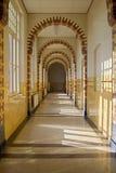 korytarz stara szkoła Obraz Stock