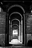 korytarz stary Zdjęcia Royalty Free