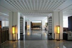 Korytarz w hotelu Zdjęcia Royalty Free