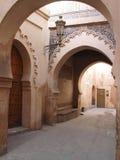 Korytarz w Marrakesh Obraz Royalty Free