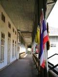 korytarz w starym urzędzie miasta Zdjęcia Stock