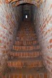 Korytarz wierza średniowieczny kasztel Zdjęcie Royalty Free
