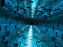 korytarz zaawansowany technicznie Fotografia Stock