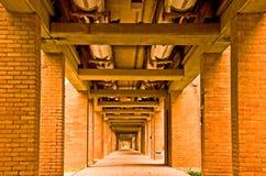 korytarz zbliżać zbliża Zdjęcia Stock
