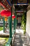 korytarza chiński ogród zdjęcie stock