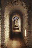 korytarza fortecy metro Fotografia Royalty Free