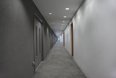 korytarza końcówka światło Zdjęcia Royalty Free