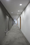korytarza końcówka światło Zdjęcia Stock