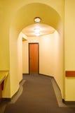 korytarza kolor żółty Obrazy Royalty Free