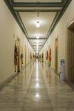 Korytarza korytarza washington dc działa Wewnętrzny budynek biurowy V Zdjęcia Stock