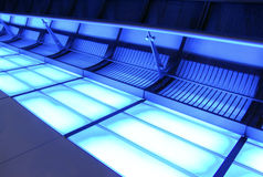 korytarza neon Zdjęcie Royalty Free