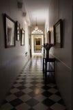 Korytarza pałac fotografia royalty free