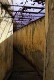 Korytarza Poprzedni więzienie wojskowe Zdjęcia Stock