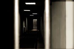 Korytarza więzienie. Obraz Royalty Free