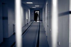 Korytarza więzienie. Obrazy Royalty Free