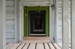korytarze zdjęcie stock