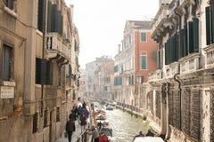 korytkowy Italy Venice starego miasta Fotografia Royalty Free