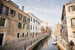 korytkowy Italy Venice starego miasta Zdjęcie Stock