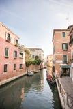 korytkowy Italy Venice starego miasta Zdjęcia Stock