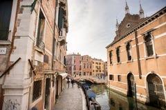korytkowy Italy Venice starego miasta Fotografia Stock