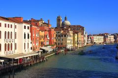 korytkowy Venice Obrazy Royalty Free